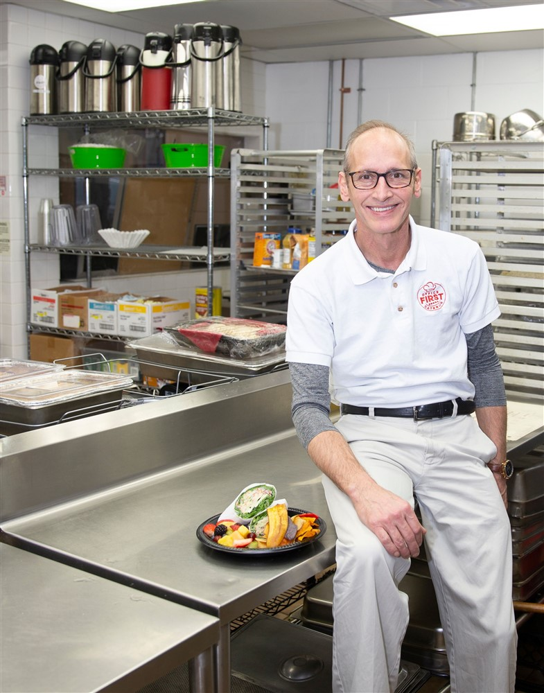 Founder of Office First Catering in Louisville, KY